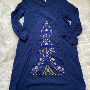 Stevie and Co. Bohemian Embroidered Shift Dress